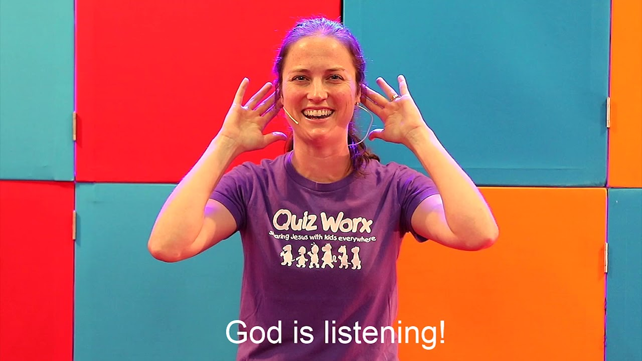Talk to God (Prayer) Kids' Talk