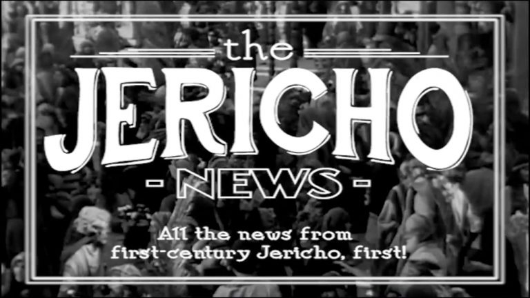 The Jericho News! (Luke 19:1-10)
