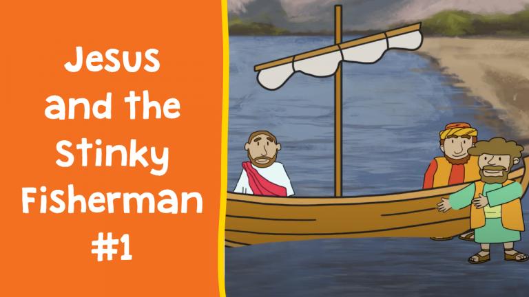 Jesus and the Stinky Fisherman 1 (Thumbnail)