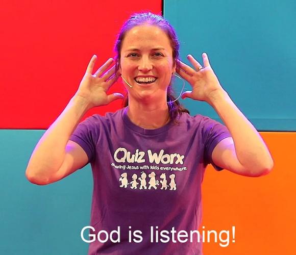 Talk To God Kids' Talk Image (580x500)